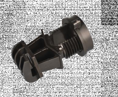 """Isolateur universel, à visser pour piquets rond 19mmø, pour ruban 20mm et cordelette 6mm, """"IP-19"""""""