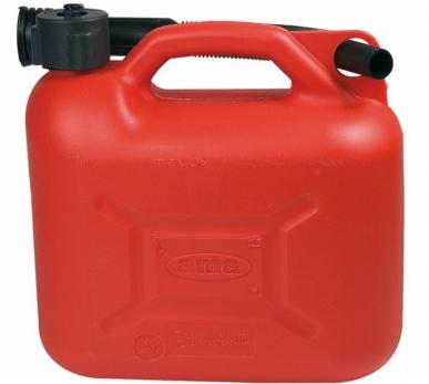 Polyethylen-Kanister 5 Lt + flexibler Ausguss