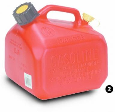 Jerricane pour carburant 5 Lt avec bec verseur