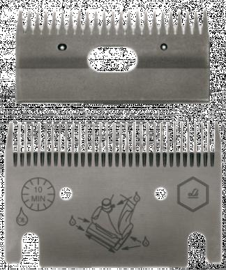 Jeu de peignes 102 - 31/23 dents - 3 mm hauteur de coupe