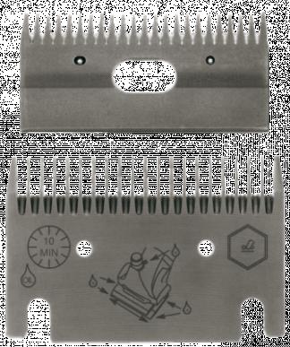 Jeu de peignes 106 - 21/23 dents - 3 mm hauteur de coupe