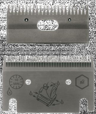 Jeu de peignes 1253 - 53/23 dents - 0,5 mm hauteur de coupe