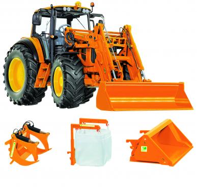 Tracteur JOHN DEERE 7430 Communal Avec Chargeur et Accessoires