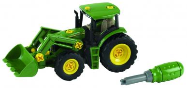 Tracteur John Deere avec chargeur - Theo Klein