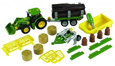 Tracteur John Deere et accessoires - Theo Klein