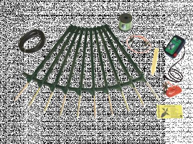 Kit clôture électrique hobbygard N-kit à l'unité