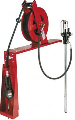 Pompa rotativa pneumatica in acciaio inox AISI 304. Portata 10,5 l/min