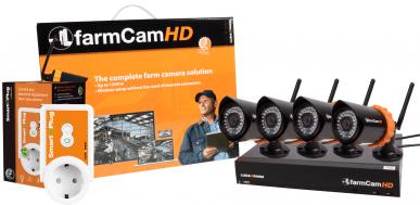 FarmCamHD-Komplettkit mit 4 Kameras + 1 SmartPlug