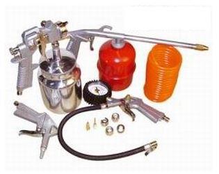Kit d'accessoires pour compresseur: 5 pièces raccord rapide