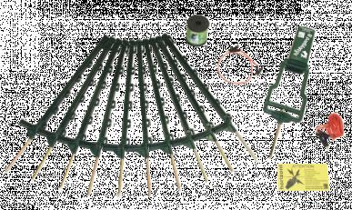 """Kit de clôture électrique """"hobbygard B-kit"""" incluant Appareil """"hobbygard B"""", à l'unité"""