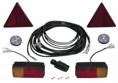 Kit éclairage pour remorques 7,5 mt + 2,2 mt