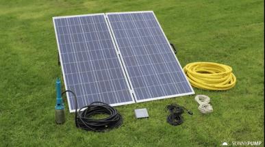 Sonnenlicht-Pumpenset 0,52 m3/h - 1,02 m3/h