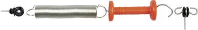 Kit porte-ressort en acier, poignée + isolateurs poignée +isolateurs annulaire,