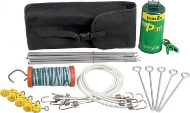 Kit clôture électrique pour randonneurs