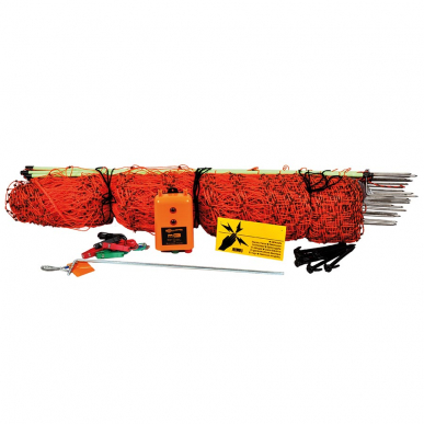 Kit recinzione elettrica per volatili B60 (12V)