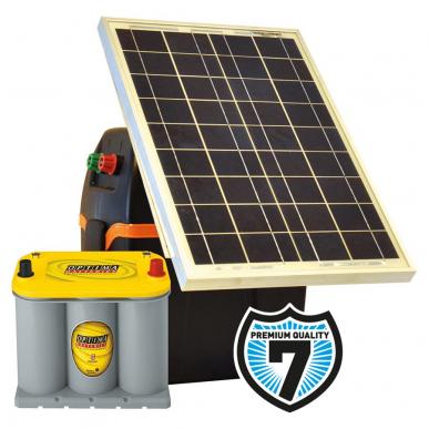 Kits solaires S230 Modèle S230: B200+30W+Opt.3,7L