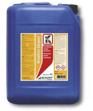 Produit de combinaison pour la désinfection et le nettoyage - Disinfect cleaner 10 l