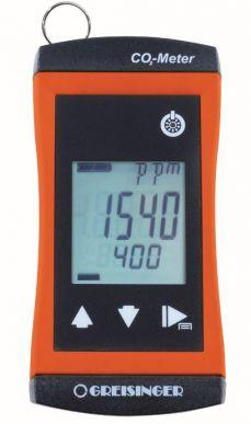 Kompakter CO₂ Monitor mit integriertem Sensor und Alarm 1910-02