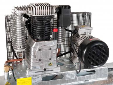 Compresseur bicylindre GK 1000-500L 400V