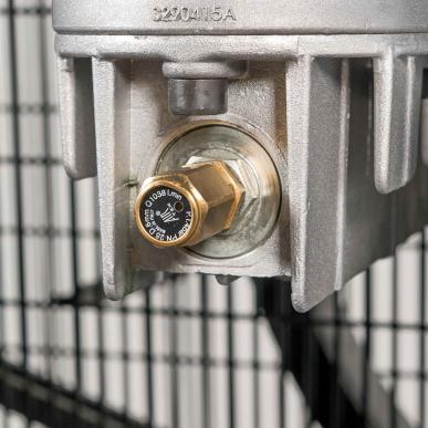 Compresseur bicylindre GK 1500-500L SD étoile-triangle