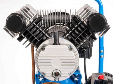 Compresseur bicylindre LM 25L-350 230V diable