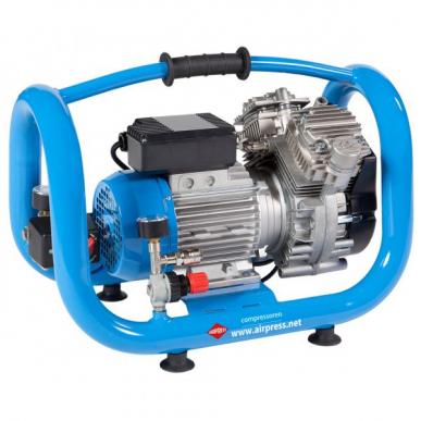 Compresseur bicylindre LMO 5L-240 Silent sans huile 230V
