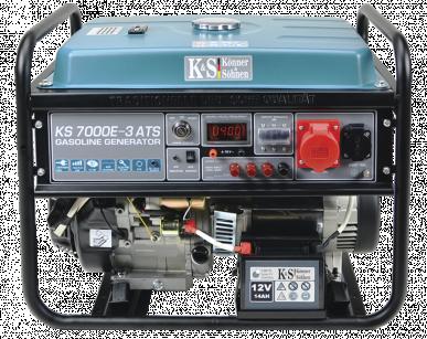 KS 7000E-3 ATS Benzin Stromerzeuger 5500 Watt