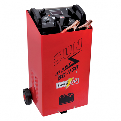 Chargeur de batterie BC730 avec assistance au démarrage