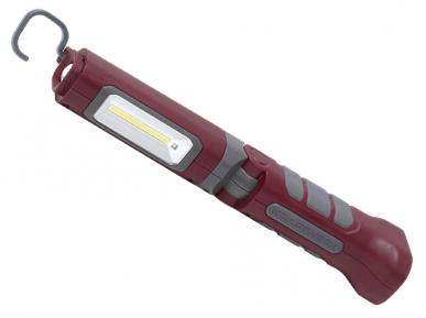 Lampe COB-LED à accu 3.7 V Li-ion  Accu 3.7 V Li-ion