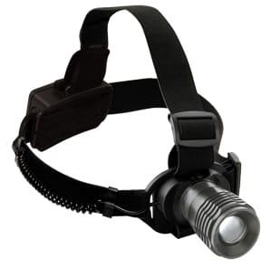 Lampe frontale LED avec zoom