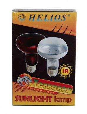 Lampes infrarouges rouges par 175W