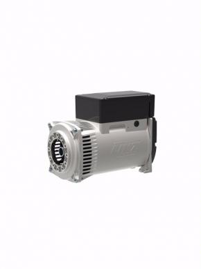 Linz 5,5 kVA Drehstromgenerator B3 / B14 Flansch. Zylindrische Außenwelle für Riemenscheiben