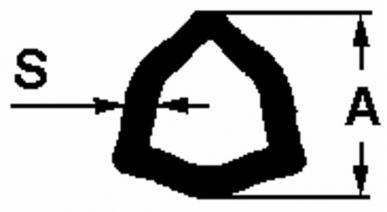 Mâchoire pour tube intérieur adaptable BY-PY catégorie 6