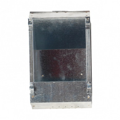 Mangeoire galvanisée lapin 1 compartiment, 25x12x12cm, 1,5kg