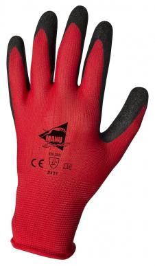 Manusweet Captain Batmat 6 paires de Gants de travail Batiment Enduction latex