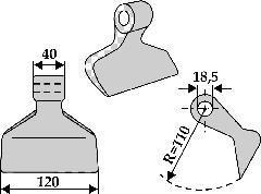 Marteau de broyage - RM-4-18.5