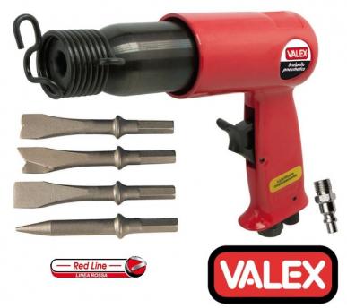 Marteau / écaillage marteau / écaillageair air comprimé / pneumatique avec 4 burins Valex
