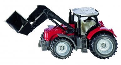Tracteur Massey Ferguson avec Chargeur Frontal Siku