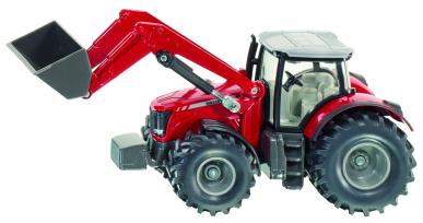 Tracteur Massey Ferguson avec chargeur frontal Siku 1:50