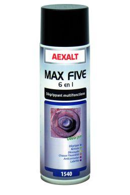 Dégrippant multifonctions MAX FIVE 6 EN 1 Aérosol 650 mL
