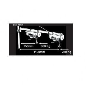 Mécafer - Potence pivotante 600 kg