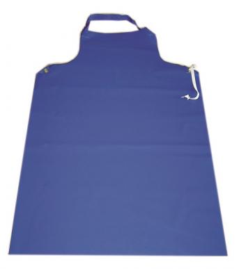tablier de traite bleu, longueur : 120cm, largeur : 75cm
