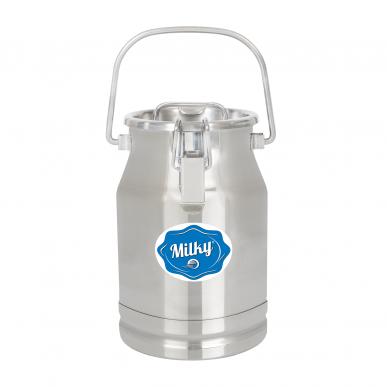 Pot à lait en acier inoxydable