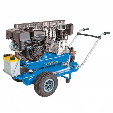 Mobiler Kolbenkompressor BM 17+17