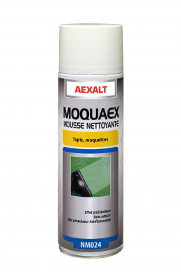 Mousse nettoyante tapis et moquette MOQUAEX Aérosol 650 mL