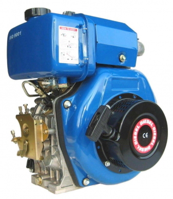 Moteur Diesel 10Hp Arbre Conique 23 Mm Lombardini, Acme, Ruggerini
