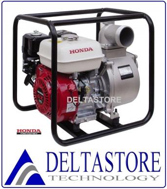 Motopompe Honda GX200 à Essence 4T 6,5 HP 800 Lt/min faible prévalence