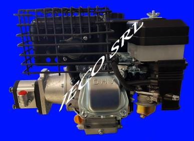 Moteur Zanetti 4T 7 Hp Avec Lanterne Et Pompe Hydraulique Groupe 2
