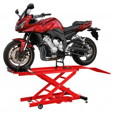 Pont moto hydraulique 360 kg pr des moto petites