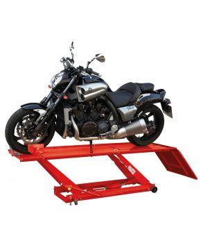 Pont moto hydraulique 453 kg - 68 cm pr des moto grandes